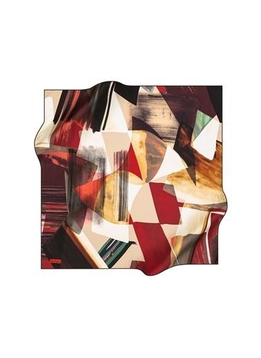 Pierre Cardin Pierre Cardin İpek Kırmızı Eşarp Kırmızı